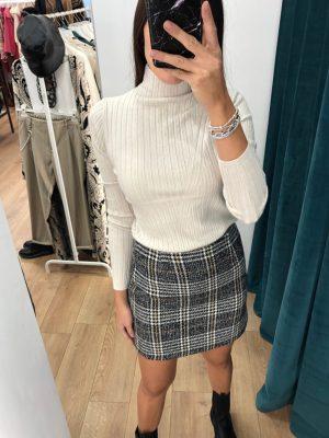 Mako Fashion minigonna scozzese