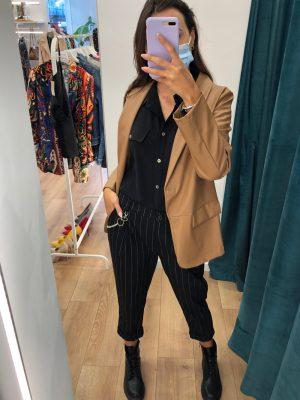 Mako Fashion giacca ecopelle