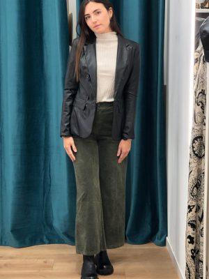 Mako Fashion pantalone largo velluto