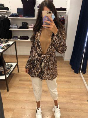 Mako Fashion giacca paillettes
