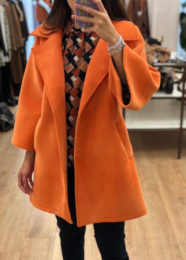 Mako Fashion cappotto velluto