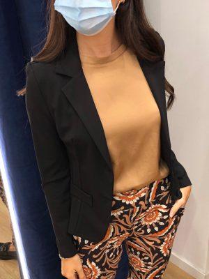 Mako Fashion blusa raso