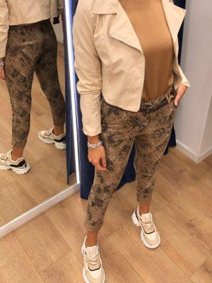 Mako Fashion pantalone pitonato