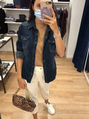 Mako Fashion camicia jeans