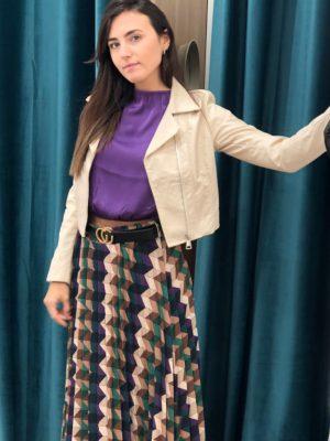Mako Fashion blusa elastico