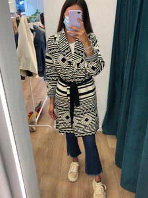 Mako Fashion cappotto maglia