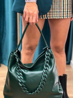 Mako Fashion borsa con catena