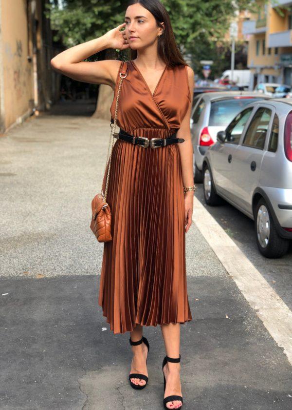 Mako Fashion Abito plisse