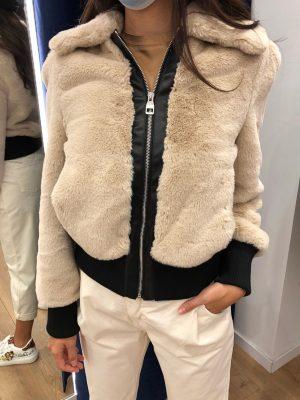 Mako Fashion giubbino ecopelliccia