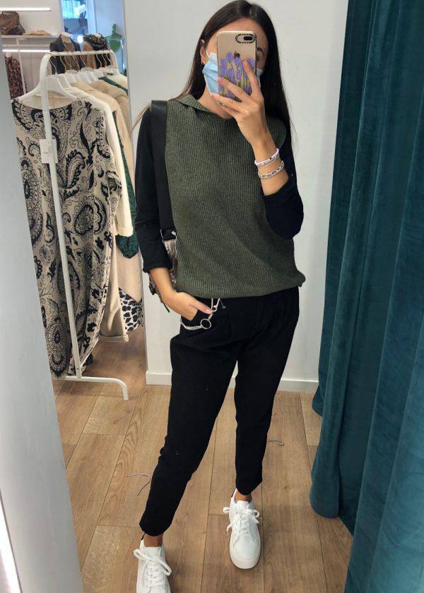 Mako Fashion pantalone pences catena