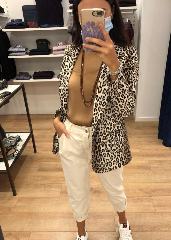 Mako Fashion giacca maculata