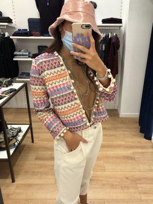 Mako Fashion giacchina etnica