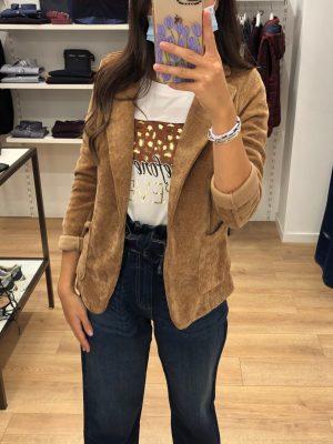 Mako Fashion giacca ciniglia