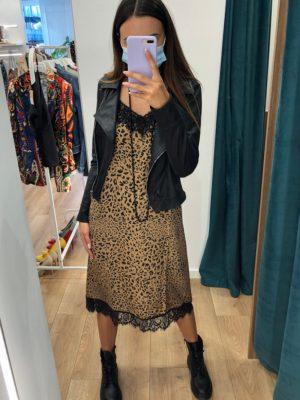 Mako Fashion abito animalier