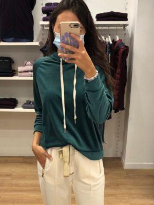 Mako Fashion maglia cappuccio