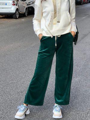 Mako Fashion pantalone ciniglia