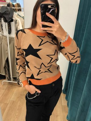 Mako Fashion maglia stelle
