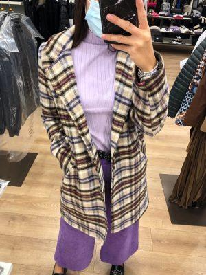 Mako Fashion cappotto quadri
