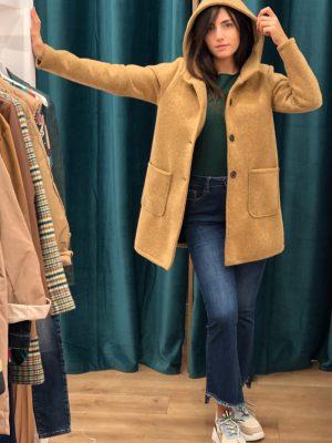 Mako Fashion cappotto tasche