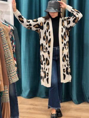 Mako Fashion cardigan maculato