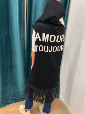 Mako Fashion cardigan gilet lungo