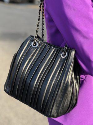Mako Fashion borsa catene plisse