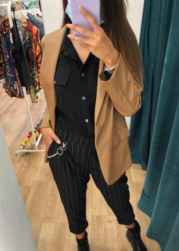 Mako Fashion camicia raso