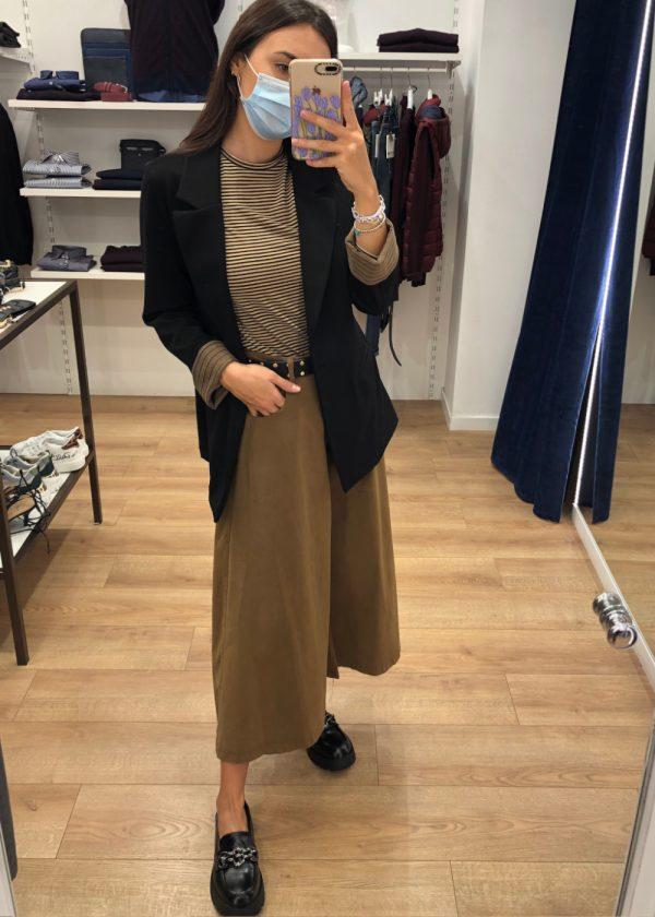 Mako Fashion giacca risvolto