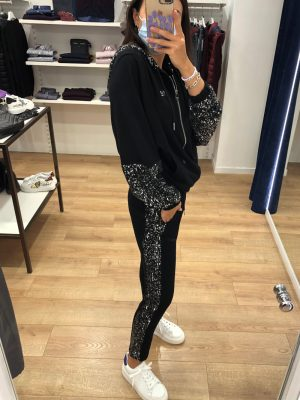 Mako Fashion pantalone in felpa