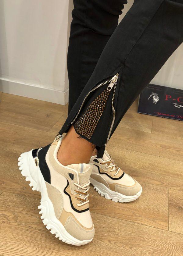 Mako Fashion pantalone tasconi