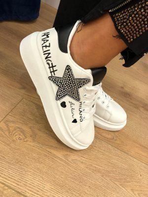 Mako Fashion scarpe ginnastica stella